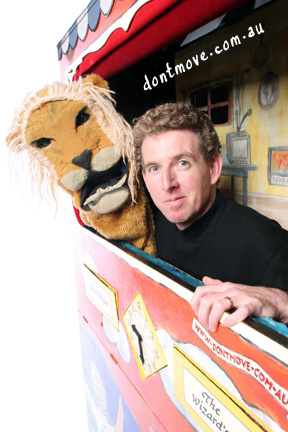 John with George the lion